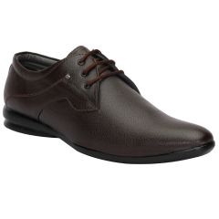 BACHINI Brown Formal Shoes for Men (Product Code - 1591-Brown)