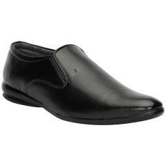 Bachini Black Formal Shoes For Men (product Code - 1592-black)