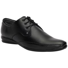 BACHINI Black Formal Shoes for Men (Product Code - 1593-Black)
