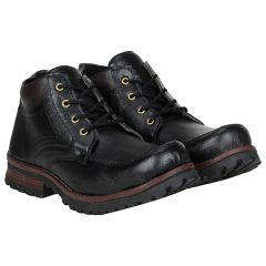 Black Boot For Men (code - 1630-black) - By Location