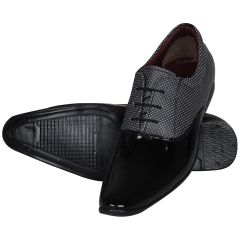 Black Formal Shoes For Men (code - 1638-black) - Footwear