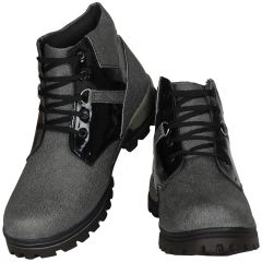 Grey Boot For Men (code - 1642-grey) - Footwear