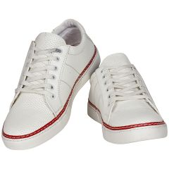 White Casual Shoes for Men (Code - 1567_White)
