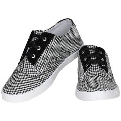 Black Casual Shoes For Mens (code - 1615-black)