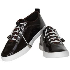 Dark Brown Casual Shoes For Men (code - 1614-dark Brown) - Footwear