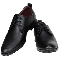 Black Formal Shoes For Men (code - 1652-black) - Footwear