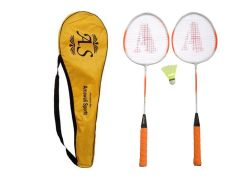 Badminton - AS - Smash Badminton Racquet Set of 2