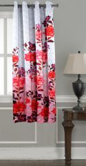 Lushomes Digitally Printed Flowery Polyester Blackout Curtains For Windows (Single Pc) - POBCNDGPDW1024