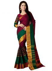 Wama Fashion Cotton Silk Sari(TZ_VV)