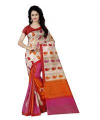 wama fashion bhagalpuri cotton sari with blouse (TZ_Dpika)