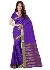 wama fashion cotton silk sari(TZ_Priya_purple)