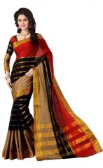 wama fashion cotton silk sari(TZ_Kashish_Red)