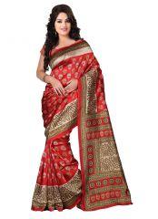 wama fashion cotton silk sari(TZ_Kasturi_Red)