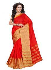 wama fashion cotton silk sari(TZ_Kumkum)