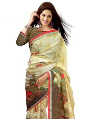 Wama Mother's Day Gifts   Apparels - Wama Fashion Georgette Multi color saree- Mothers day present