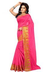 wama fashion cotton silk sari(TZ_Parita_Pink)