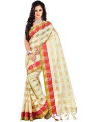 wama fashion cotton silk sari(TZ_Partibha_Red)
