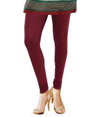 Tbz Maroon Cotton Leggings_Size Xxl Only