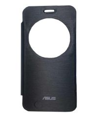 Tbz Flip Cover Case For Asus Zenfone 2 Laser -Ze550Kl -Black