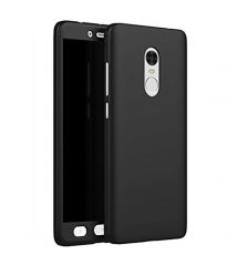TBZ 360 Protection Front & Back Case Cover for Xiaomi Redmi Note 3 - Black