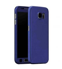 TBZ 360 Protection Front & Back Case Cover for Oppo F1s - Blue