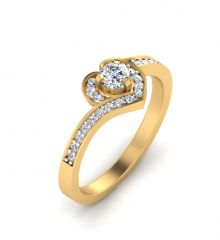 Diamond Jewellery - Sheetal Impex 0.50 Cts Real Natural Diamond Ring With Certificate RL0030