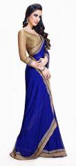 Bollywood Sarees - Bikaw Bollywood Replica Jai Ho Blue Women's Saree-jhblue