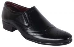 George Adam MENS DESIGNER BROOK SHOES (Code - 067 BLACK)