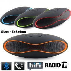 X6u Wireless Stereo Bluetooth Speaker Handsfree FM Radio