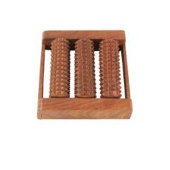 Onlineshoppee Health & Fitness - Onlineshoppee Wooden Roller Foot Massager CA52