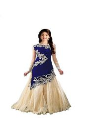 Mf Retail Georgette Self Design Semi-stitched Salwar Suit Dupatta Material (unstitched)