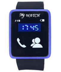 Watches - Black PU Digital Watch  for Mens Women,s