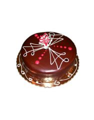 Gifts Valley 5 Star Chocolate Cake-2 Kg.(Eggless) Gift Items