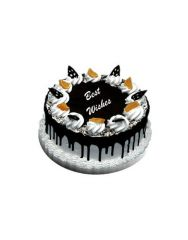 Gifts Valley Five Star Black Forest Cake - 2 Kg (Eggless) Gift Items
