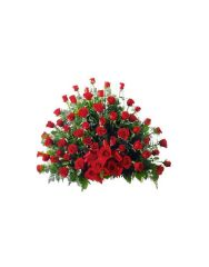 Gifts Valley 150 Roses Basket Gift Items