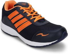 Sport Shoes (Men's) - Jollify Running Sports shoes Navy orange 025nvorg