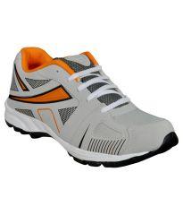 Jollify Spelax Gray Cricket Sports Shoes 054