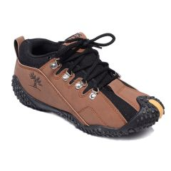 Jollify Brown Casual Out-door Shoes For Men's(delux01brown)