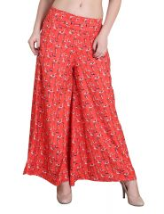 Jollify Regular Fit Women's Orange Trousers(PZ008ORG)