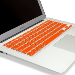 "Spider Designs Mac Book Air 11"" Key Pad Skin Orange"