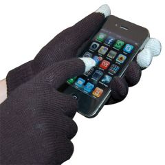 Spider Designs I Glove Capacitive Touch Screen Gloves for iPhones 110-BLK