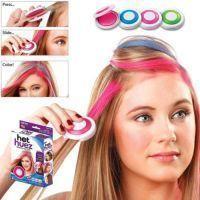 Hot Huez 4 Color Hair Chalk Powder Diy Temporary Wash Out