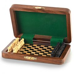 Vivan Creation Travellers Mini Chess Board Wooden Handicraft -114