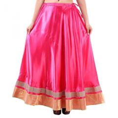 Vivan Creation Shree Mangalam Mart Traditional Satin Full Lehenga Free Size (Product Code - SMSKT610)