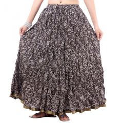 Vivan Creation Shree Mangalam Mart Multicolor Printed Skirt Free Size (Product Code - SMSKT637)