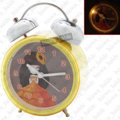 Exclusive Fashionable Analog Gift Table Wall Desk Self Clock Watch with Alarm-89