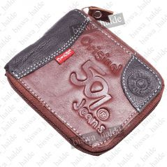 Mens Gents Leather Wallet Credit Business Card Holder Case Money Bag Purse 08