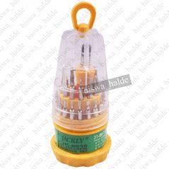Jackly 30 In 1 Precision Repair Tool Kit Srewdriver Set Magnetic Head-02