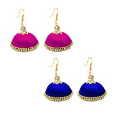 Handcrafted Silk Thread Earring For Girls