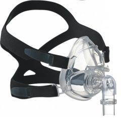 Hoffrichter BIPAP Full Face Mask With Headgear Fully Silicon, Medium